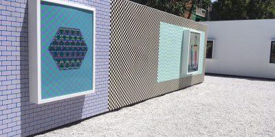 Oeuvres de Dominique Pétrin; Galerie blanc
