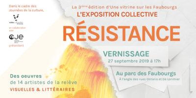 exposition résistance